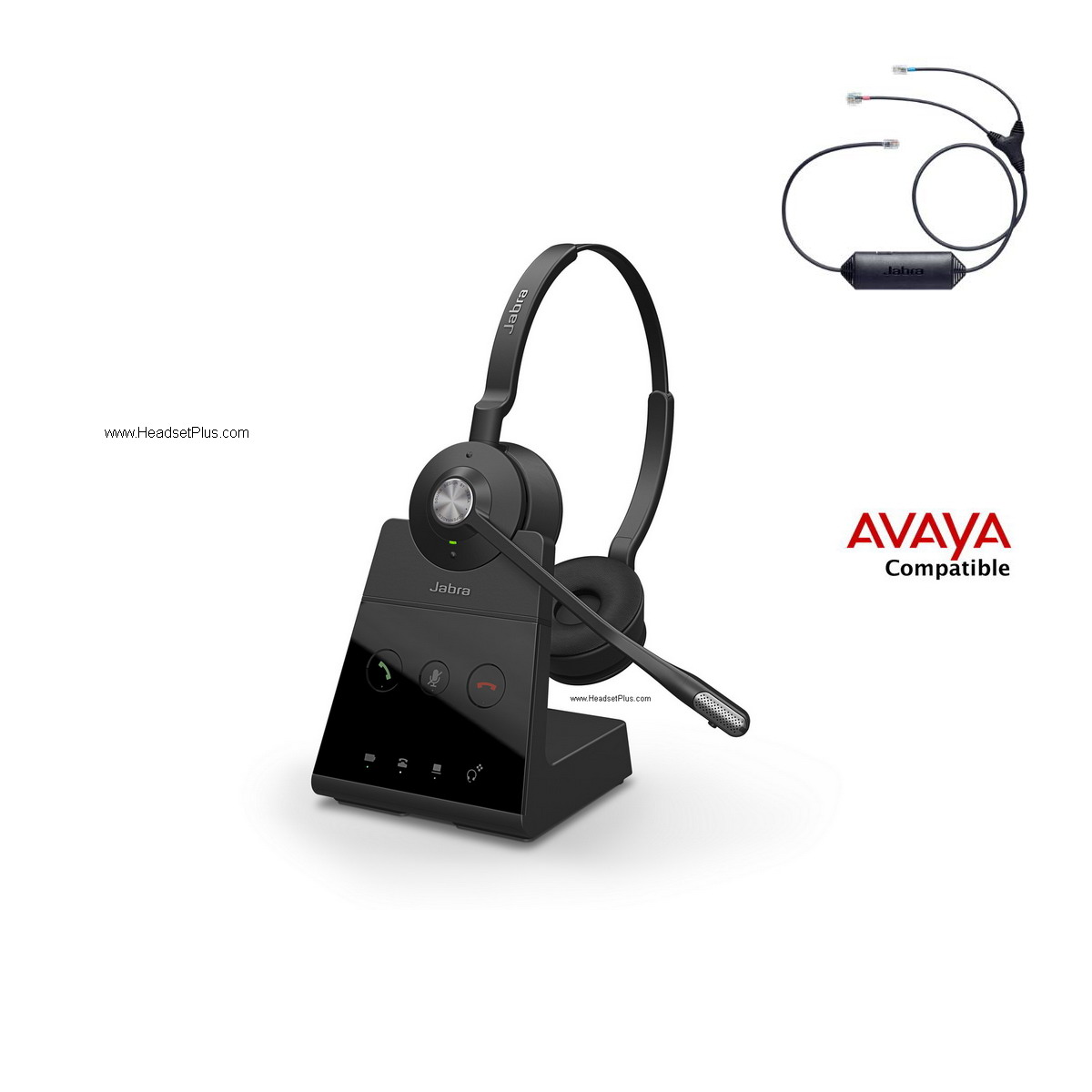 Jabra Engage 65 Stereo+EHS Avaya 1400 9400 9500 9600 Phones